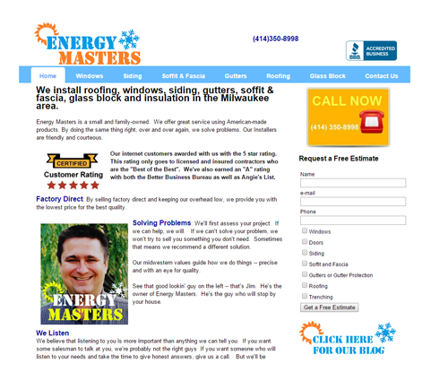 Energy Masters before